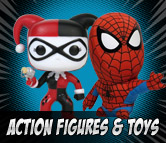 Top Left Action Figures & Toys