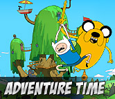 Top Left Adventure Time