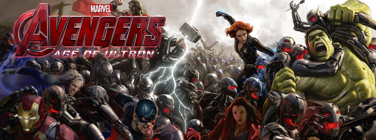Avengers Age of Ultron Merchandise Banner