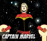 Top Left Captain Marvel