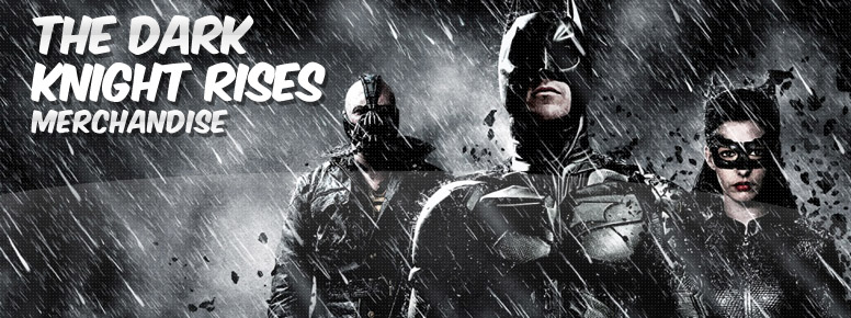 The Dark Knight Rises Merchandise Banner