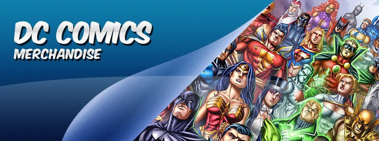 DC Comics Women's T-Shirts & Clothes Banner