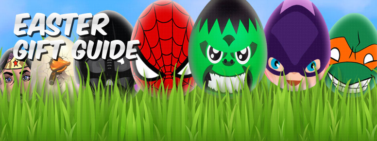 Superhero Easter Gift Guide Banner