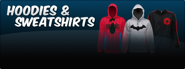 All Superhero Hoodies Merchandise Banner