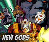 Top Left New Gods Merchandise