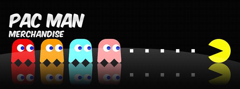 Pac-Man Merchandise Banner