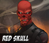 Top Left Red Skull