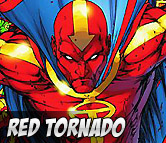Top Left Red Tornado