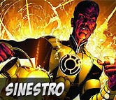 Top Left Sinestro
