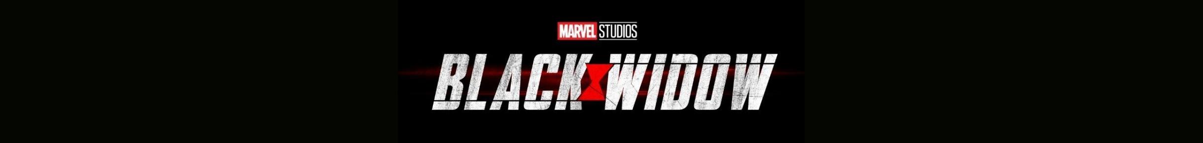 Black Widow Merchandise Banner