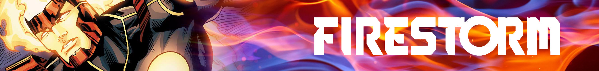 Firestorm Merchandise Banner