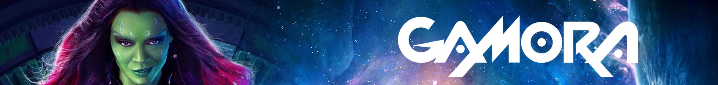 Gamora Merchandise Banner