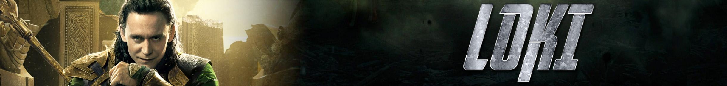 Loki Merchandise Banner