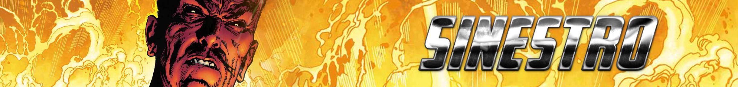 Sinestro Merchandise Banner