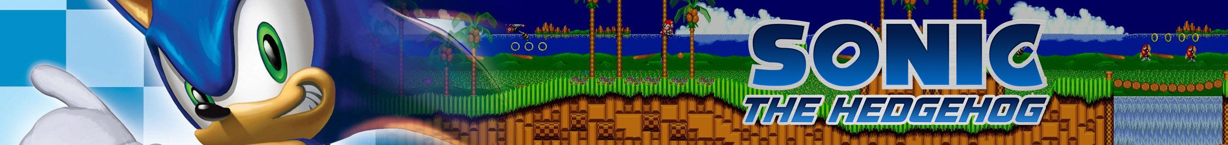 Sonic Merchandise Banner
