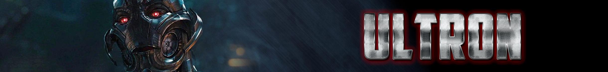 Ultron Merchandise Banner