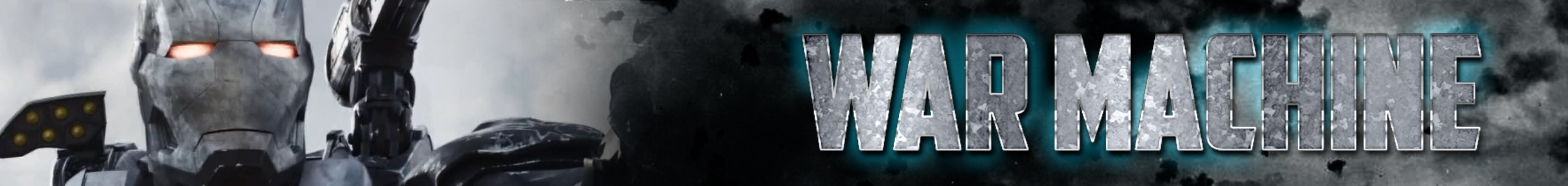 War Machine Merchandise Banner