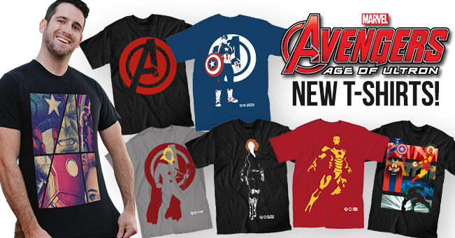 New Age of Ultron Shirts