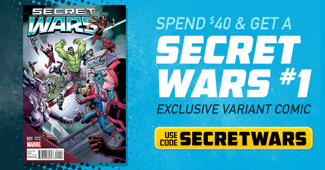 Secret Wars #1 Deal