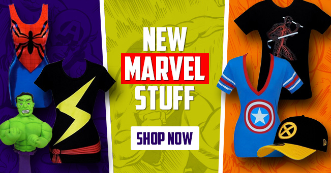 New Marvel Stuff!