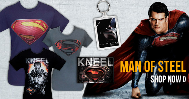 Man of Steel Stuff Has Arrived!