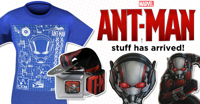 Ant-Man Stuff has Arrived!