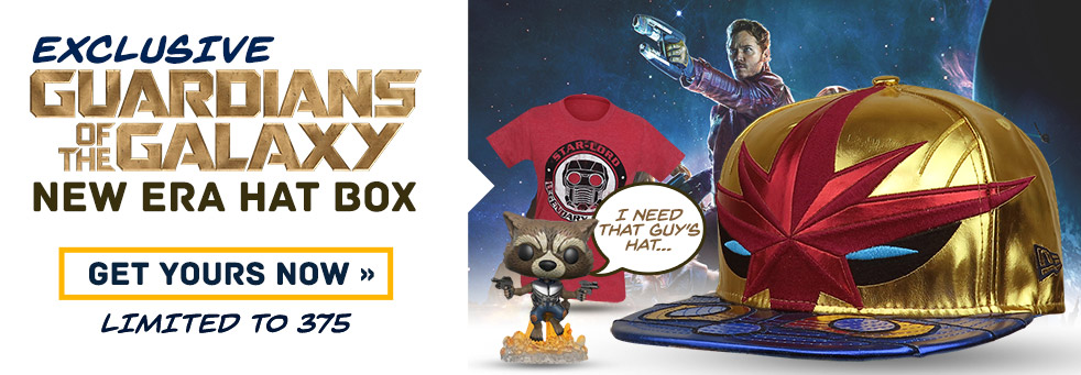 Guardians Of The Galaxy Hero Box
