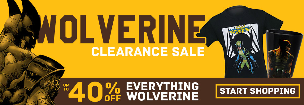 Wolverine Clearance Sale