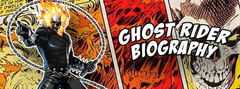 ghost rider biography