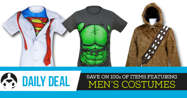 Daily Deal: Men's Costumes