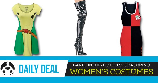 Daily Deal: Women's Costumes