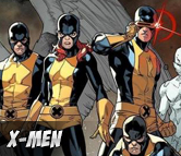 Top Left X-Men